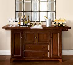 Buffet Bar Cabinet Torrens Bar Cabinet Pottery Barn