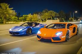458 lamborghini aventador qatari businessman addicted to supercars now drives a rolls royce