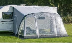 New Caravan Awnings Leisurewize New Ontario 390 Air Awning Caravan Porch Awning Grey