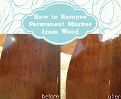 How To Remove Oil Stains From Wood Cabinets How To Remove Permanent Marker From Wood Home Stories A To Z