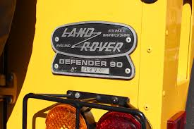 land rover defender 90 yellow 1997 land rover defender 90 90 stock 5w004329b for sale near