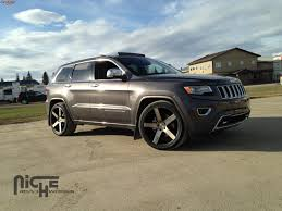 suv jeep black jeep grand cherokee niche milan m134 wheels black u0026 machined