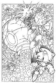 sonic hedgehog coloring pages sonic the hedgehog color page coloring pages for kids cartoon