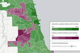 chicago voting map chicago 2015 election live results map shows how rahm won