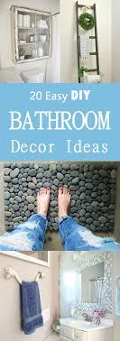 easy bathroom decorating ideas 20 easy diy bathroom decor ideas