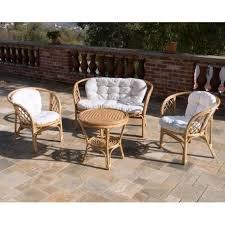 divano giardino bahama in rattan arredo giardino composto da divano 2 poltrone e