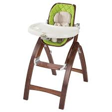 Chair For Baby Badger Basket Embassy Adjustable Wood High Chair With Tray