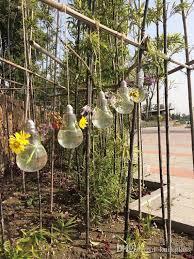 2018 light bulb hanging glass vases garden planter terrarium bulb