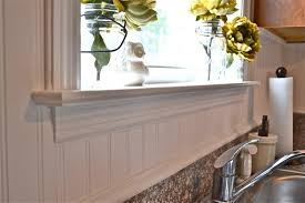 beadboard backsplash bathroom great home decor inexpensive