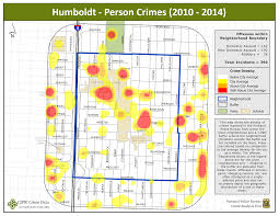 Humboldt State University Map by Portland State Criminal Justice Policy Research Institute