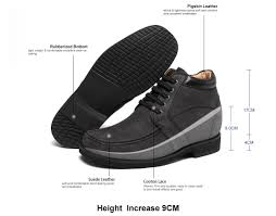 Comfortable Cowboy Boots Fashion Men Leisure Casual Suede Leather Elevator Cowboy Boots Is