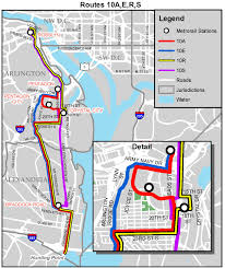 Metro Bus Map by Planitmetro Major Changes Coming To Metrobus Routes 10a 10b