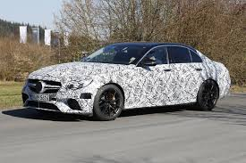 latest spy shots of 2018 mercedes amg e63 sedan and estate emerge