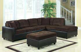 Reversible Sectional Sofa Sectional Aedesia Waffle Reversible Sectional Brown Corduroy