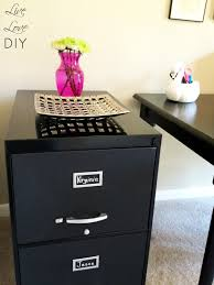 painting metal file cabinets livelovediy how to spray paint a file cabinet and the occasional