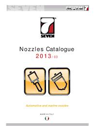 nozzles catalogue 2013 03 updates pdf propulsion internal
