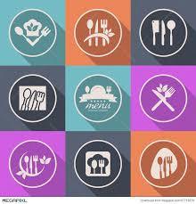 kitchen icon vector kitchen icon menu logo sign illustration 47719376 megapixl