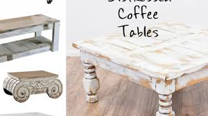 Weathered Coffee Table Distressed Coffee Table In 18 Interior And