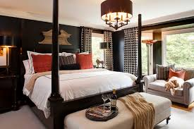 Houzz Bedrooms Traditional Tan And Black Bedroom Houzz