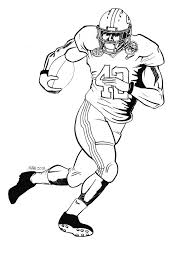 Football Player Drawings Free Download Clip Art Free Clip Art Alabama Crimson Tide Coloring Pages