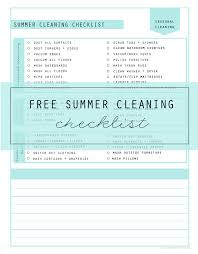 Household Items Checklist by Cleaning Checklist Archives Clean Mama
