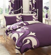 Matching Bedding And Curtains Sets Bed Linen Amusing Purple Curtains And Matching Bedding Bedding