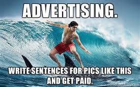 Advertising Meme - zambezi will trade jobs for memes agencyspy