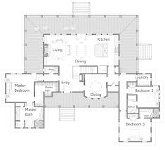 rest floor plan little harbour rest u2014 flatfish island designs u2014 coastal home plans