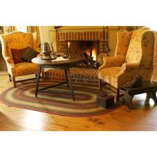 Primitive Kitchen Rugs Remarkable Country Primitive Kitchen Rugs Under Rustic Round Wood