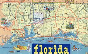 Florida Highway Map Florida Aaroads U S Highway 90