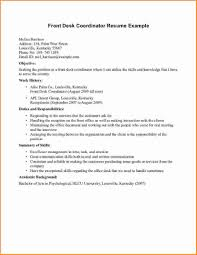 examples of resumes for receptionist resume for receptionist
