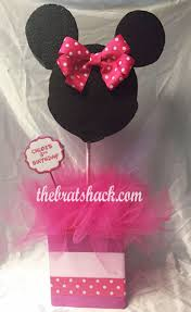 minnie mouse center pieces made minnie mouse inspired centerpiece affordable