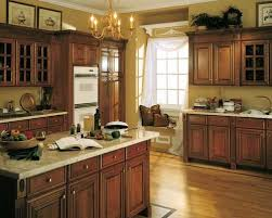 Traditional Kitchens With White Cabinets - furniture dish cabinet above sink in traditional kitchen design