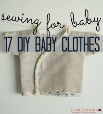 thanksgiving crafts for infants sewing for baby 17 diy baby clothes allfreesewing com
