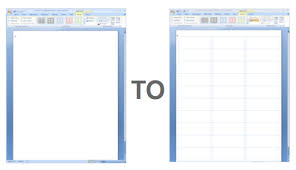 blank templates for word showing gridlines in a ms word label template worldlabel