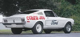 ford mustang cobra jet engine 1968 ford mustang 428 cobra jet a profile of a car