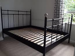 Black Metal Bed Frame Bed Frames Wallpaper High Resolution White Bedroom Furniture