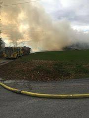 1 200 bales of corn fodder burn in chanceford township