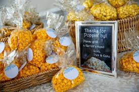 popcorn wedding favors warner wedding favors inn at warner