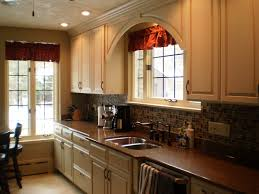 Kitchen Cabinets Sink Base Custom Omega Cabinetry In An Opaque Finish Bumped Out Sink Base