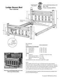 how to build a log bed u2013 tutorial home design garden