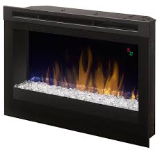 decoration in contemporary electric fireplace insert flush mount