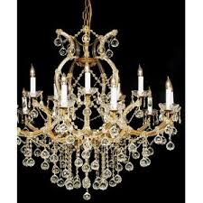 Maria Theresa 6 Light Crystal Chandelier Crystal Maria Theresa Chandelier Wayfair