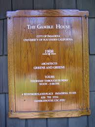 Gamble House by The Gamble House Artissima Blog Of Artifactory Studio
