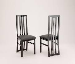 chaises de salle à manger design chaise de salle à manger design lot de 2 melvine buffet