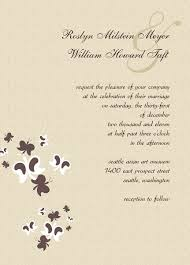 Wedding Invitations Free Samples Wedding Invitation Card Samples Pacq Co
