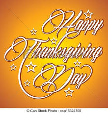 vector clipart of creative happy thanksgiving day creative
