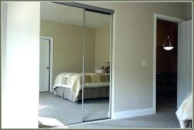 Sliding Mirror Closet Door Hardware Custom Size Sliding Mirror Closet Doors Interior Mirrored