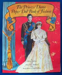 paper dolls prince charles and princess diana royal wedding 1981