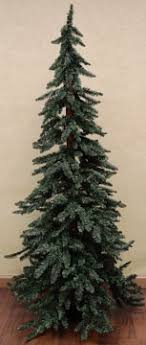 country decor downswept alpine tree 7 ft country